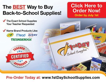Pre-order Your School Supplies for Next School Year