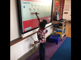 Smart board writing