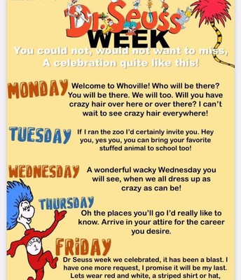 DR. Seuss Week