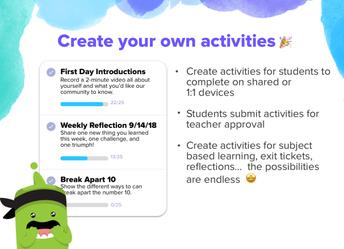 Add Activities