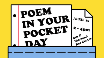 Join U School's   5th  Annual Poem in Pocket Day Celebration.