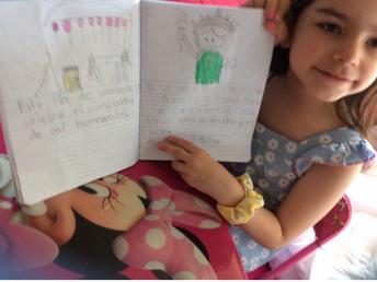 "Maestra Ana's class: Journal writing ""Estatua de la Libertad"""
