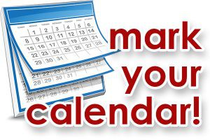 Mark Your Calendar for District Closings/Holidays