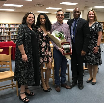 Mr. Morfoot, 2019 HCPSS World Language Teacher of the Year