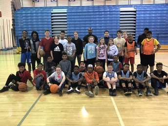 Hoops for Heart participants!