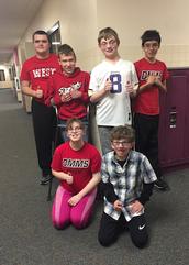 Adaptive Bowling Team at DMMS