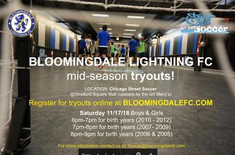 Bloomingdale Lightning FC Soccer Club