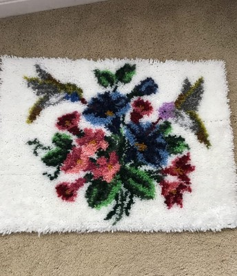 Kara also made this rug!