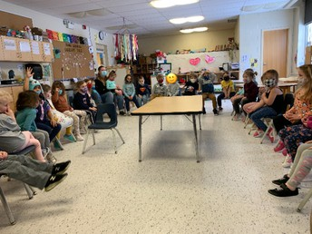 Un cercle d'apprentissage/Learning circle (Inquiry about babies)