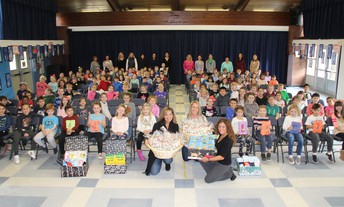 First-grade Thanks-giving Service Learning Project