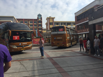 15 buses ready to go