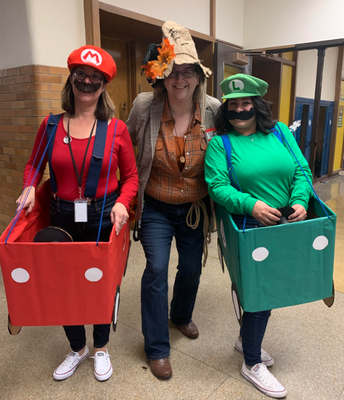 Ran Into These Mario Brothers!