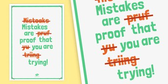 Growth Mindset Theme of the Month