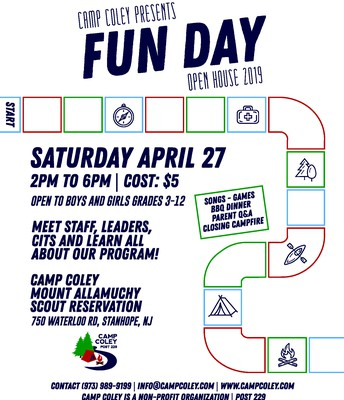 Camp Coley 'Fun Day' Open House