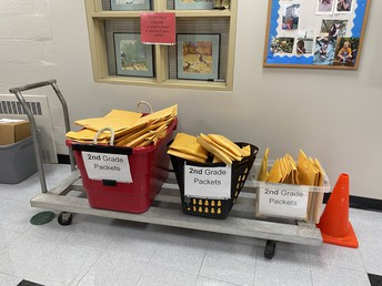"""Grade 2 Remote Instruction """"Tool Kits"""" Ready For Pickup on Monday, 9/14 !"""