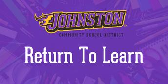 JCSD Return To Learn Update