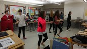 Chinese club doing Lip Sync to popular Little Apple song.