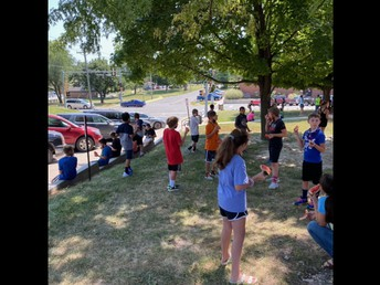 5th Graders Celebrate Back to School