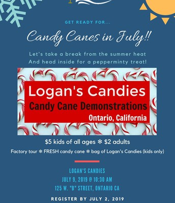 Candy Canes in July!
