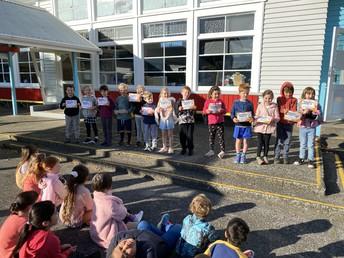 Junior Principal award recepients