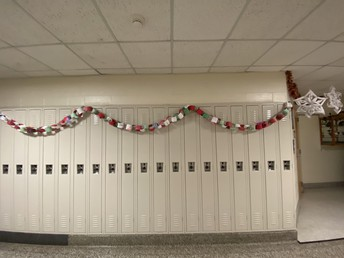 Paper Chain Garland-We are looking to increase spirit!