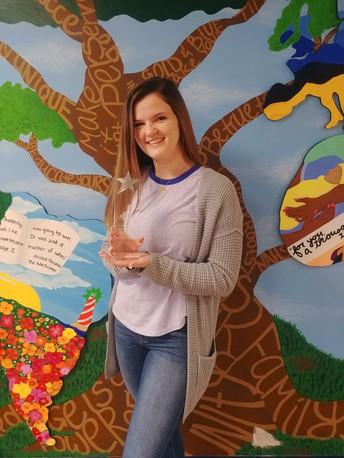Nottingham High School's Kylie McGuire wins prestigious award!