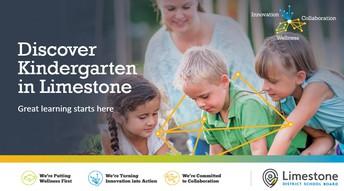 Kindergarten Registration Open Now
