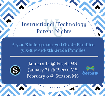 Instructional Technology Parent Nights