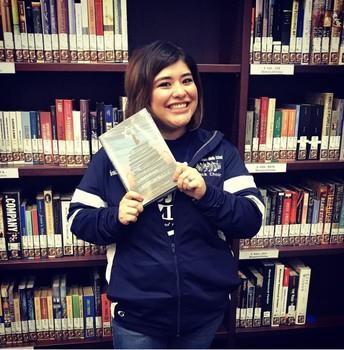 JEMS Librarian Karina Quilantan-Garza, MLS