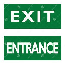 Entrance and Exit Procedures