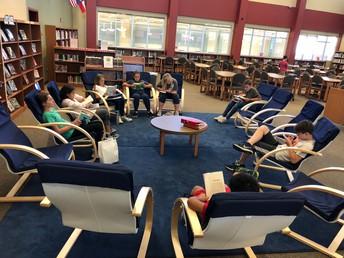 Cozy reading spaces!