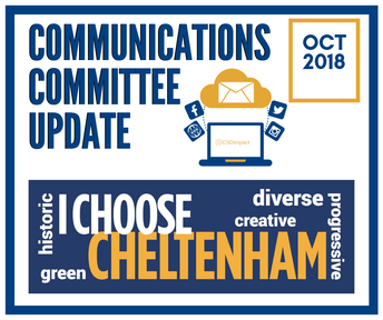 Stay Informed: October Communications Committee Meeting