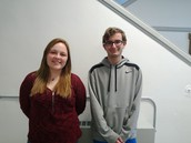 MHS January Students of the Month