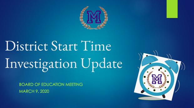 start time powerpoint presentation