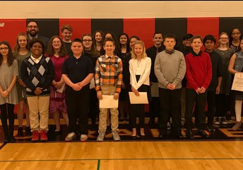 The 2018 National Junior Honor Society Members