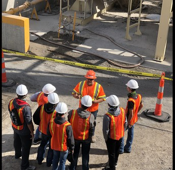 Construction Technology Students Participate in Construction Career Day