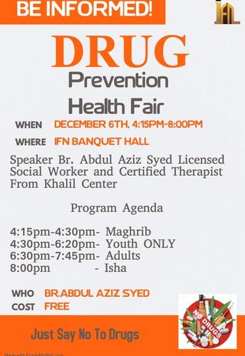 Drug Prevention Health Fair at IFN