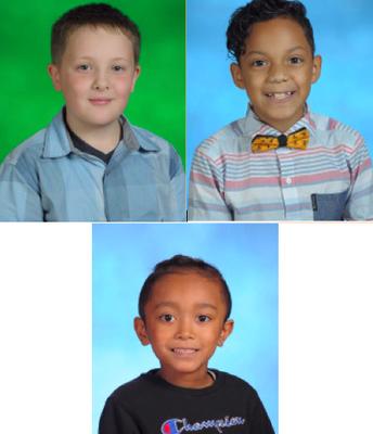 404 Winners: Caden, Doany and Thomas