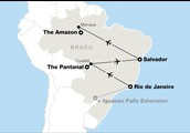 where is the amazon river located at