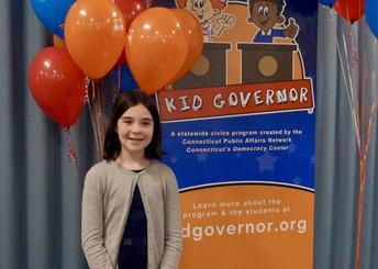 The EDC Congratulates CT Kid Governor Myra Stanfield-Norfeldt