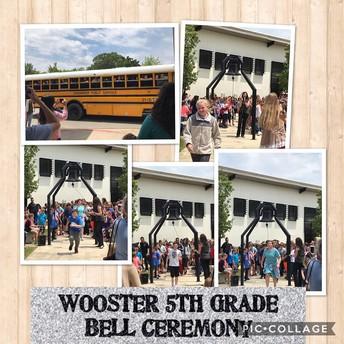 5th Grade Bell Ceremony