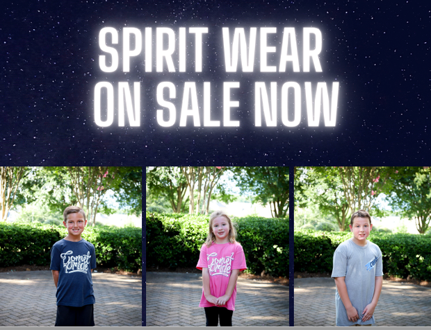 Purchase your Comet spiritwear NOW!