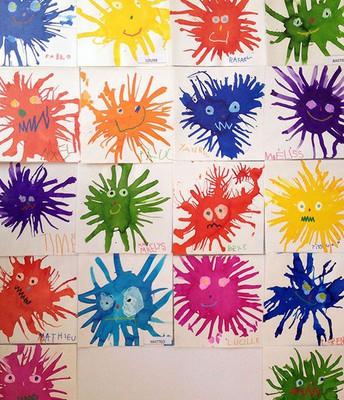 Paint Splat Monsters