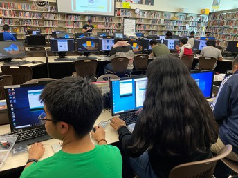 Computer Science Week was a Hit at Sweetwater High School!