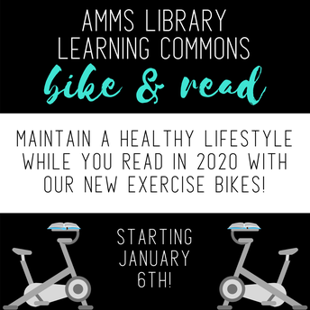 Exercise Bikes in the Library!