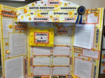 Eighth Grade First Place: Sienna-Sunscreen