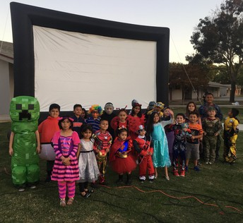 A.L. Conner Students Dress Up for Movie Night