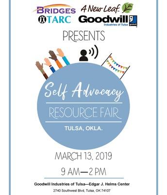 Self-Advocacy Resource Fair - English