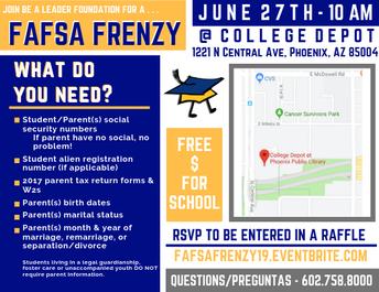 FAFSA Frenzy Event!