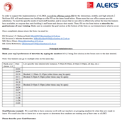 ALEKS support - PD in your own building